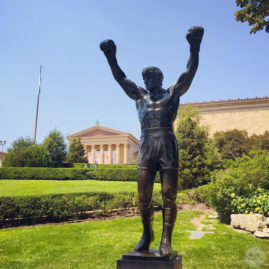 The Rocky statue, Philadelphia