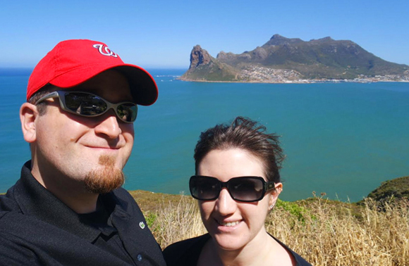 The view from Chapman's Peak, just outside Cape Town