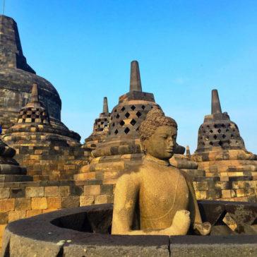 Visiting Borobudur, Prambanan and Yogyakarta, Indonesia