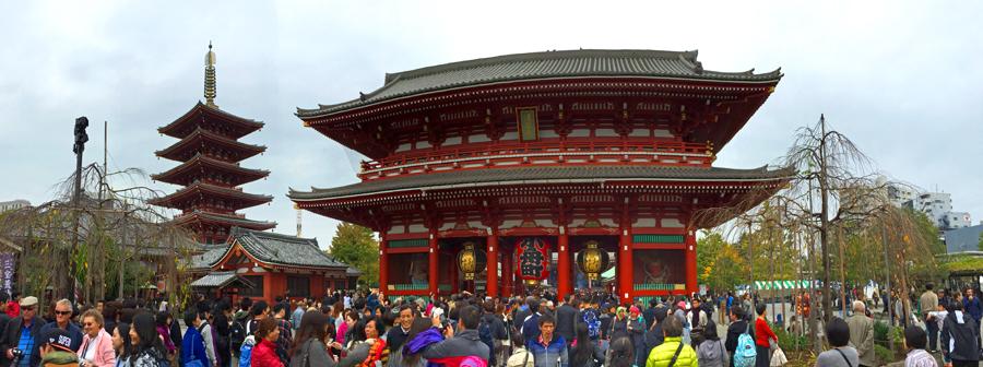 Senso-ji, Tokyo, Japan