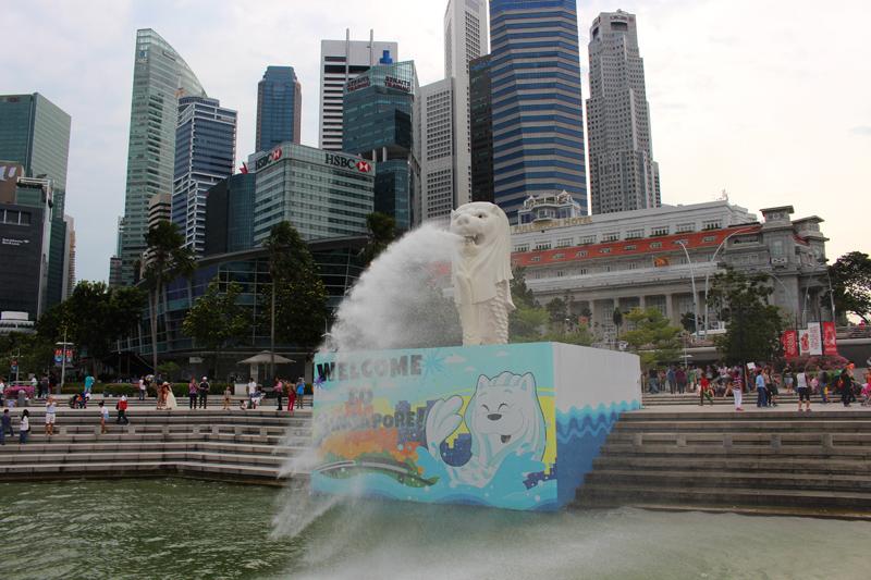 Merlion Park, Singapore