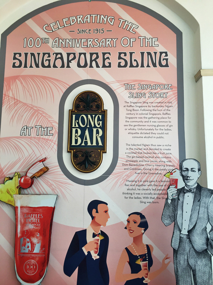 The story of the Singapore Sling