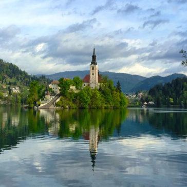 Magic in Lake Bled, Slovenia