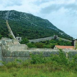 The Walls of Ston, Croatia