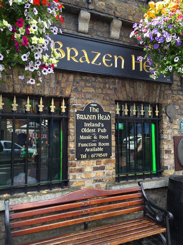 Brazen Head, the oldest pub in Dublin