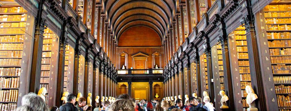 Dublin, Trinity College Long Room