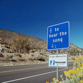 New Mexico's Singing Road on Route 66