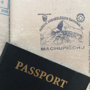Don't forget to get your passport stamp!