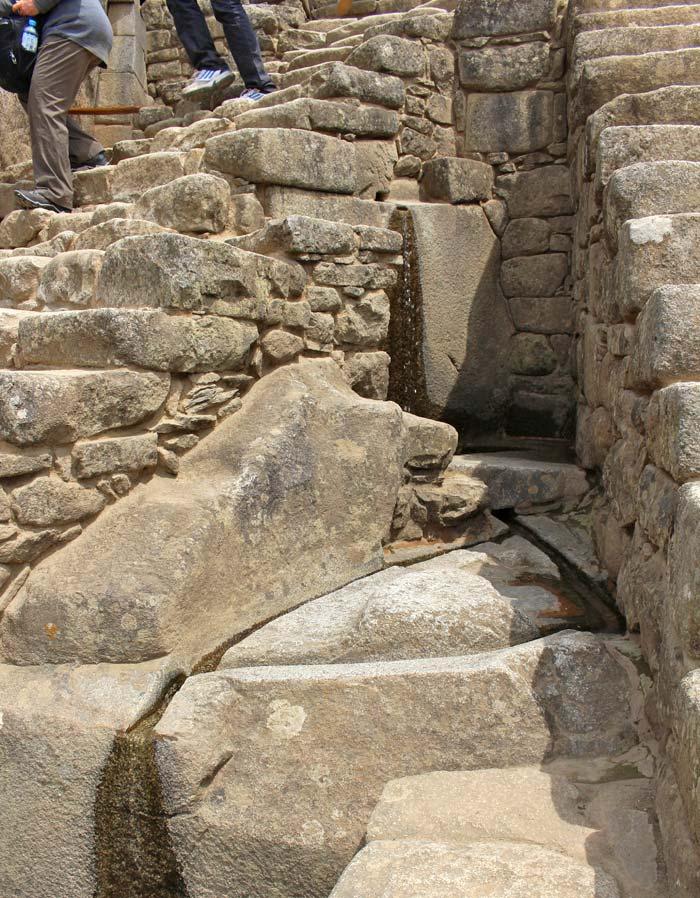 The Incan aqueducts