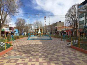 The streets of Uyuni, Bolivia