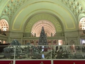 The Train Exhibit at Union Station
