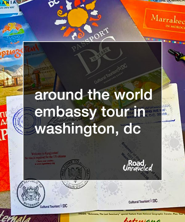 The Around the World Embassy Tour in Washington, DC