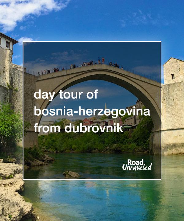 1 Day in Bosnia and Herzegovina: Medjugorje and Mostar