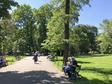 Parks around Krakow