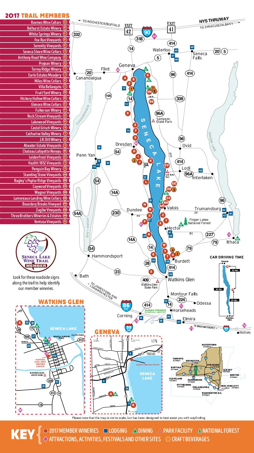 Seneca Lake Wine Tour Events