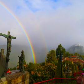 Monserrate in Bogota, Colombia