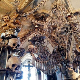 The Bone Church Sedlec Ossuary, Czech Republic
