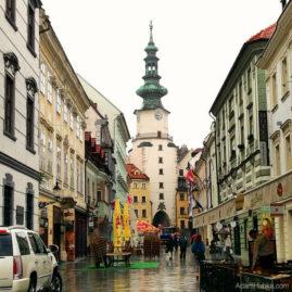 Michaels Gate in Bratislava, Slovakia
