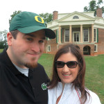 Thomas Jefferson's Poplar Forest plantation, just south of Charlottesville.