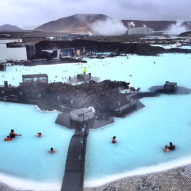 The Blue Lagoon in Grindavik, Iceland