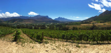 The Franschhoek Wine Valley, South Africa