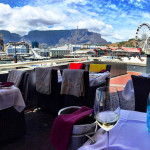 The view from V&A Waterfront was amazing