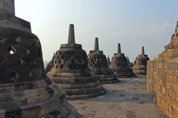 The Stupas of Borobudur