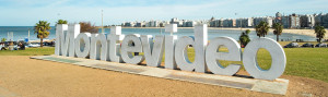 The Montevideo tourist sign