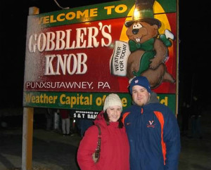 Groundhog Day in Punxsutawney 2008