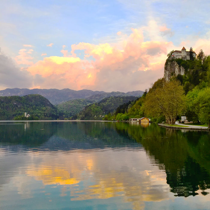 Lake Bled at Sunrise