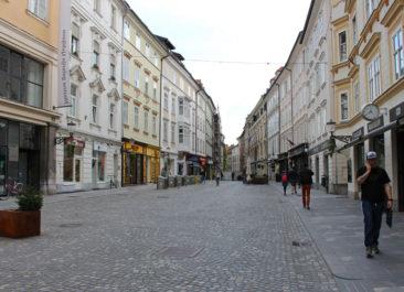 Streets of Ljubljana, Slovenia
