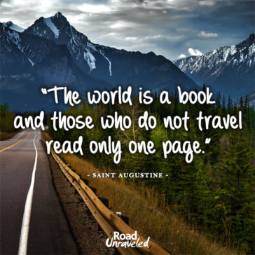 30 Inspirational Travel Quotes