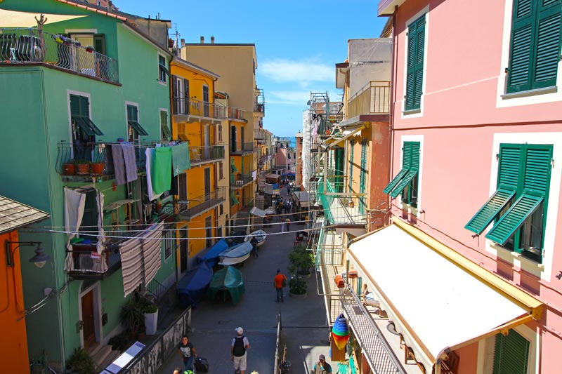 Streets of Manarola, Cinque Terre