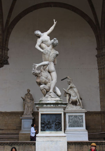 Giambologna's The Rape of the Sabine Women