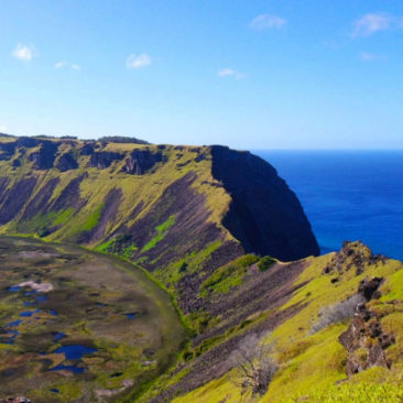 Orongo and the Rano Kau Crater