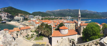 View from the Citadel of Budva