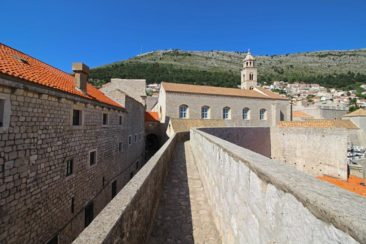 Walking the walls of Old Town Dubrovnik, Croatia