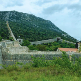 The Walls of Ston, Croatia