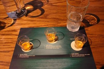 Jameson Whiskey Samples
