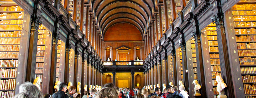 Dublin, Trinity College Long Room