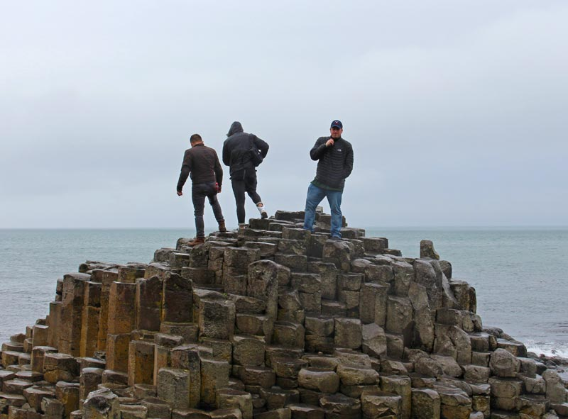 Obligatory photo standing on top of Giant's Causeway