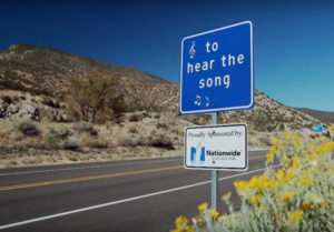 The Singing Road on Route 66