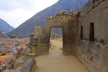 The Gate of the Gods at Ollantaytambo