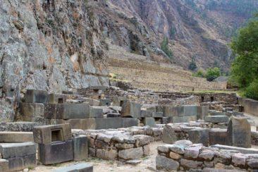 Ollantaytambo Stones