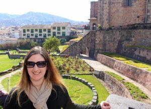 The gardens of Coricancha