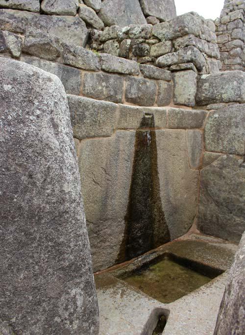 Incan aqueducts