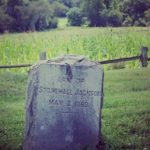 The grave of Stonewall Jackson's Arm