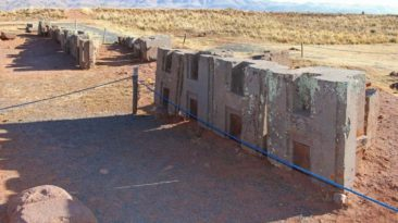 Puma Punku H Blocks in Tiwanaku Bolivia