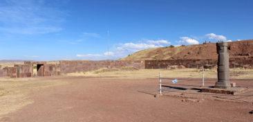 Tiwanaku Bolivia near Puma Punku