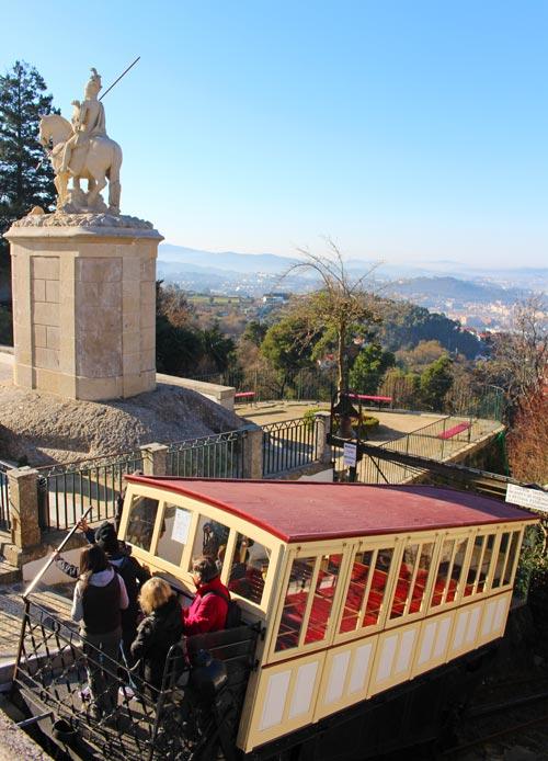 Bom Jesus do Monte funicular